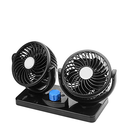 UIEJHN Ventilador Refrigeración Coche 12V Velocidad