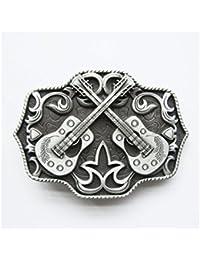 hotrodspirit - boucle de ceinture guitares country alu homme femme west 279a5b1a363