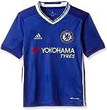 adidas Jungen Fußball/Heim-Trikot FC Chelsea Replica Blue/White, 128