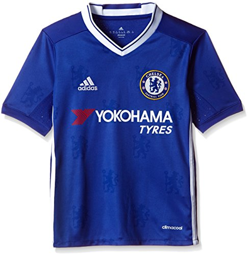 3f4aa75f adidas H JSY Y Camiseta 1ª Equipación Chelsea FC 2015/16, Niños, Azul