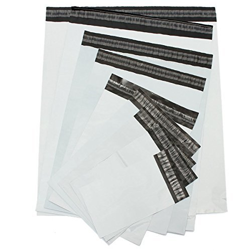 Mistmo 10 X 13 100pc (2Mil) Poly Mailers Shipping Envelopes Water Resistant Bags Self-sealing Shipping Supplies by Mistmo Packaging Solution