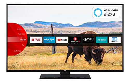 JVC LT-43V55LFA 109 cm (43 Zoll) Fernseher (Full HD, Triple-Tuner, Smart TV, Prime Video, Bluetooth) 43-tv