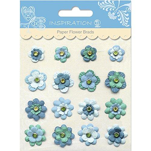 Paper Flower Brads (PAPER FLOWERS BRADS MOTIV 07)