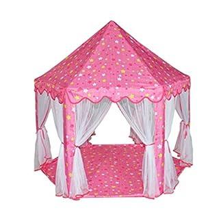 Ajusen Tragbare Falten Kinder Zelte Fairy Prinzessin Spiel-Zelt Indoor Outdoor Kids Burg