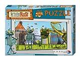 Noris Spiele 606031080 - Ritter Rost Puzzle - Heiße Brüder, 48 Teile