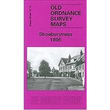 Shoeburyness 1895: Essex Sheet 79.13 (Old Ordnance Survey Maps of  Essex)