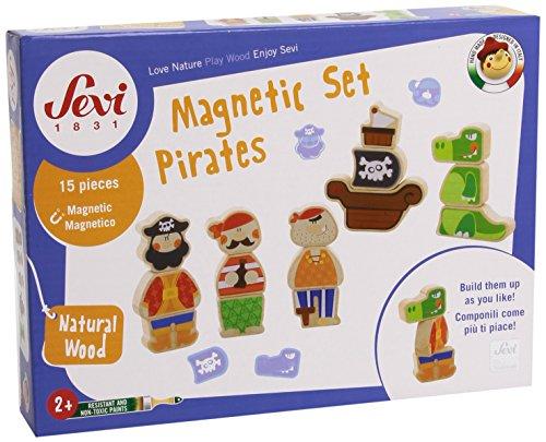 Trudi 82827 - Magnet Set - Piraten -Bauen und Konstruieren Preisvergleich
