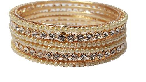 Bracelet de perle d'or Bracelet de main de chaîne de main de bracelet de Kangan (Pb-63570) golden