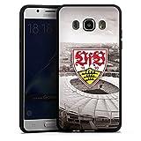 DeinDesign Samsung Galaxy J5 (2016) Silikon Hülle Case Schutzhülle VfB Stuttgart Fanartikel Stadion