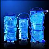 Trinkblase Wasserblase 1L 1.5L 2L 3L für Rucksack Wanderrucksack Trinkrucksack Radfahren Wasserblase Trinksystem zum Camping Wandern Radfahren (1L)