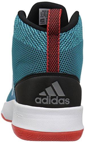 Adidas neo hombres CF ejecutor Mid zapatillas de baloncesto, misterio de gasolina
