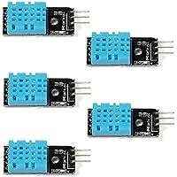 WINGONEER® 5PCS del módulo DHT11 del sensor de la humedad de la temperatura para la frambuesa Pi 2 3 de Arduino