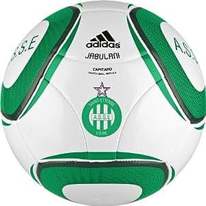 adidas 2010 Capitano ASSE Ballon Football Blanc/Vert