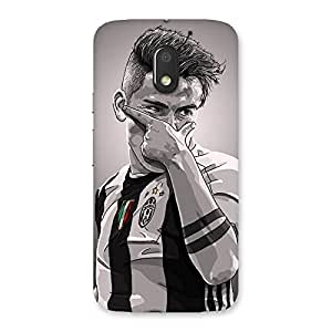 Awesome Club Fan Art Back Case Cover for Moto E3 Power