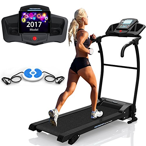 51f8qVU632L - BEST BUY #1 XM-PRO DynamicTM TREADMILL PRESTIGE - NEW 2017 model, Motorised Running Machine, Lightweight Folding Space Saving Design, Powerful Motor 1.5CHP 1100W, 14KPH Speed, 3 Level Manual Incline, 16 Auto + 1 Manual Program, Built In Speakers, Connect Your Phone / iPod, Drinks Holder, Additional Hand Controls, Heart Rate Sensors, Tablet Holder Reviews and price compare uk