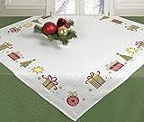 Stickpackung Tischdecke Mitteldecke Weihnachtsmotive