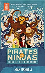 Pirates vs Ninjas: The Curse of the Octomonkey (The Lost Bookshop Book 5) (English Edition)