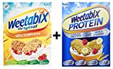 Weetabix Original Whole Grain, 430g + Weetabix Protein Crunch Original, 440g