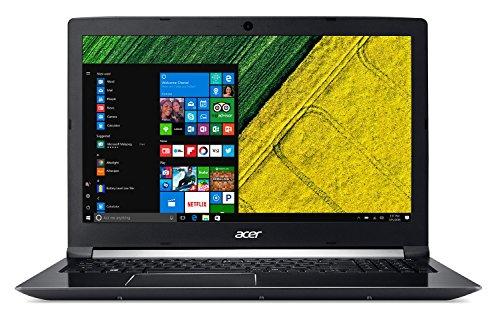 Acer Aspire A715-71G-52XK – Ordenador Portátil de 15.6″ FullHD (Intel Core i5-7300HQ, 8 GB RAM, 1 TB HDD, Nvidia GTX 1050M 2 GB, Linux); Negro – Teclado QWERTY Español