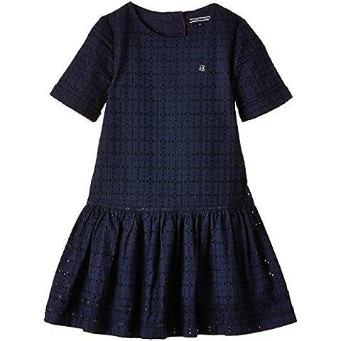 Tommy Hilfiger - VICTORIA LACE DRESS S/S, Vestito per bambine e ragazze