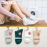 Las mujeres son calcetines calcetines de algodón puro storehouse de Phoenix barco calcetines el cilindro corto personalidad tide calcetines son una combinación de código 1