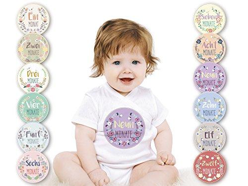baby-monatsaufkleber-fur-das-1-lebensjahr-deutsch-blumchen