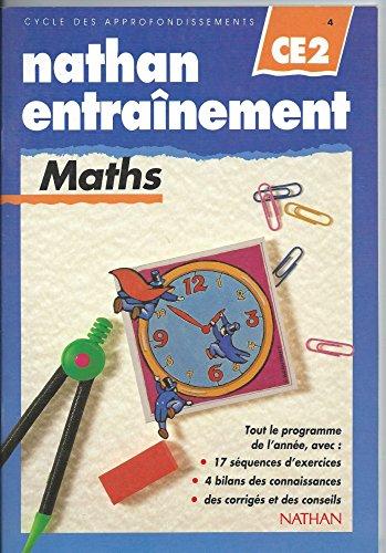 Nathan entraînement aux maths, CE2 par De Vardo