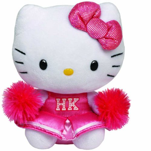 Hello Kitty - Cheerleader Plush - TY Beanie - 15cm 6""