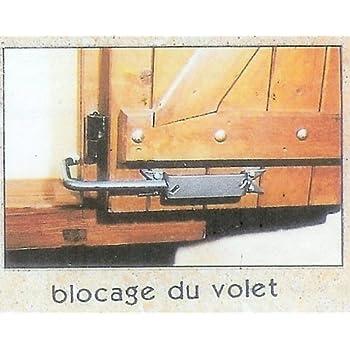 Bloque Volet Noir Grand Modele 2 Arrêt De Volet Avec