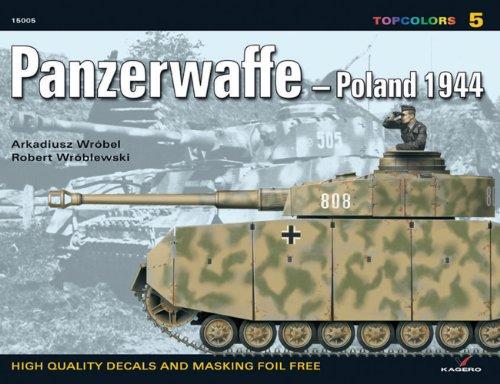 Panzerwaffe- Poland 1944 (Top Colours) por Tomasz Szlagor