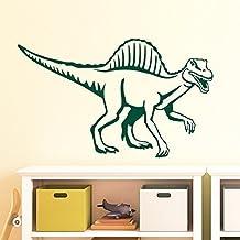 Spinosaurus Dinosaurier Wandaufkleber Wandtattoo Sticker - Farbe: Dunkelgrün