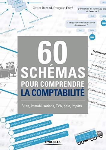 60 schémas pour comprendre la comptabilité: Bilan, immobilisations, TVA, paie, impôts ... par Françoise Ferré, Xavier Durand