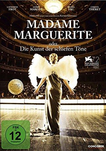 Madame Marguerite oder die Kunst der schiefen - Fledermaus Augen Kostüm