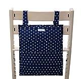 Blausberg Baby - Utensilo passend zum Sitzkissen für den Tripp Trapp - blau mit Sternen