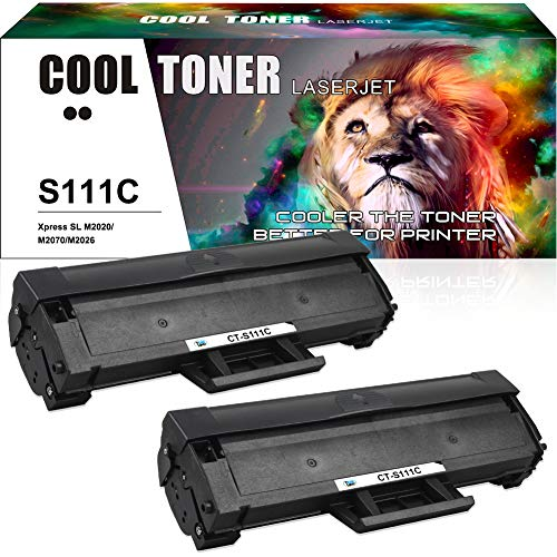 Cool Toner 2 Cartuccia Toner Compatibile MLT-D111S MLTD111S MLT-D111L per Toner Samsung M2070 M2070W M2070FW M2070F M2026W M2026 M2020 M2020W M2022 M2022W per Toner Xpress M2070 M2070FW M2026 M2026W
