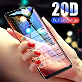 PmseK Panzerglas Schutzfolie/Displayschutzfolie,20D Full Curved Tempered Glass for Galaxy S8 S9 Plus Note 8 9 Screen Protector for A8 A6 New S7 Protective Film for Samsung S9 Plus Gold