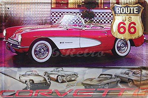 1957-chevrolet-corvette-convertible-metal-tin-sign-vintage-style-wall-ornament-decor-size-8-x-12