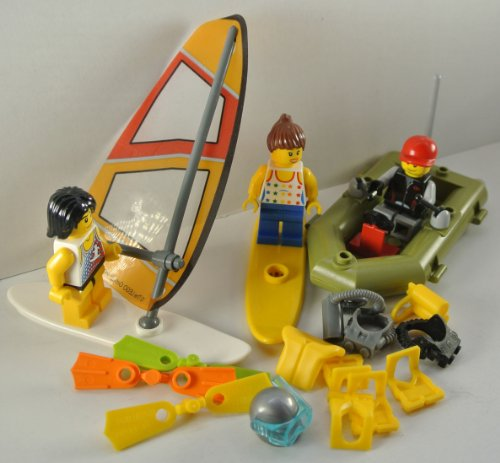 LEGO - Custom Set: Surfer & Co Zubehörset