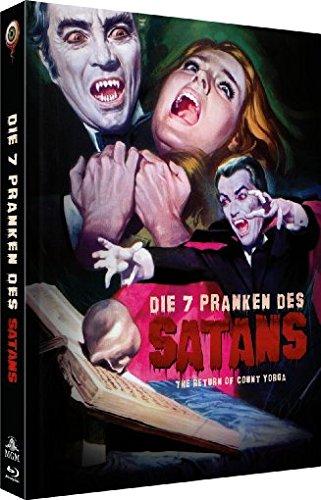 Die 7 Pranken des Satans - 2-Disc Limited Collector's Edition Nr. 14 (Blu-ray + DVD) - Limitiertes Mediabook auf 666 Stück, Cover B Lady Frankenstein
