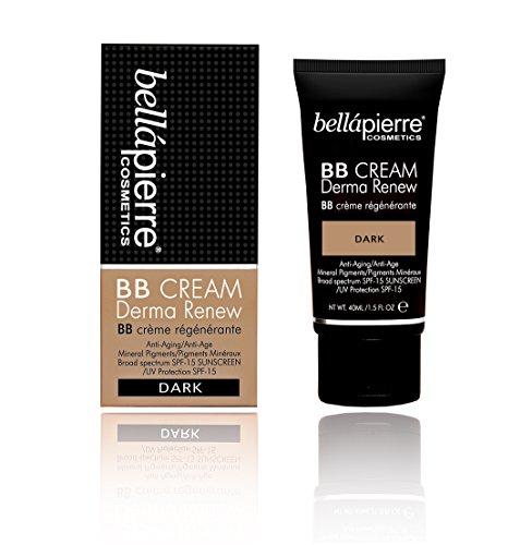 Ton Oil Free Moisturizer (Bellapierre Cosmetics BB Cream Derma Renew dark, 1er Pack (1 x 40 ml))