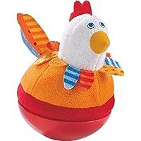 Haba 302570 - Stehauffigur Huhn, Kleinkindspielzeug preisvergleich bei kleinkindspielzeugpreise.eu