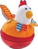 Haba 302570 - Stehauffigur Huhn, Kleinkindspielzeug