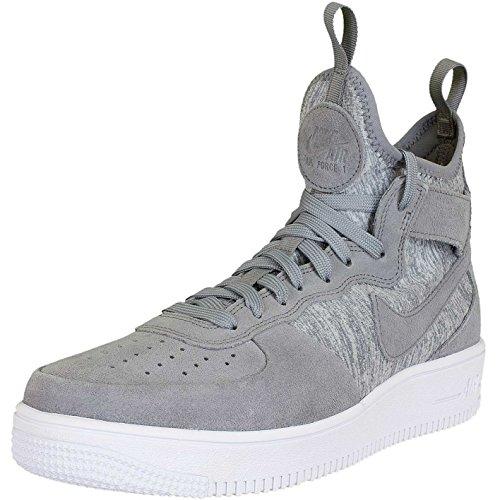 Nike , Coupe fermées homme gris/blanc