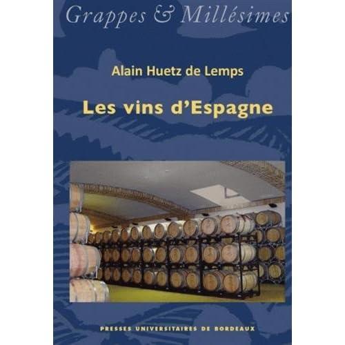 Les vins d'Espagne