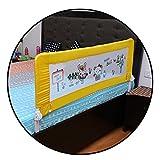 #8: Safe-O-Kid Washable Bed Rails (Yellow)