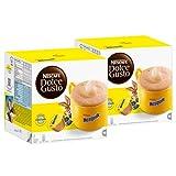Nescafé Dolce Gusto Nesquik, Kakao, Schokolade, 2er Pack, 2 x 16 Kapseln