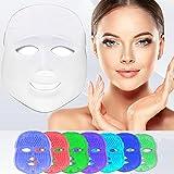 [nueva versión 2018] Havenfly 3 color LED máscara fotón luz piel rejuvenecimiento blanqueamiento...