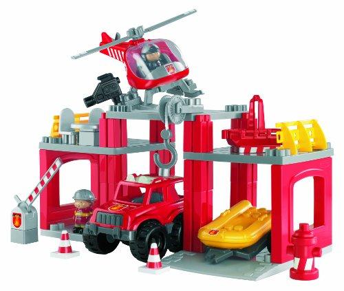 Ecoiffier - 3152 - Jeu de construction - Station Incendie - Abrick