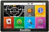 "NEW 7"" Truck Sat Nav With Bluetooth /HGV/Lorry/Caravan/Car/Coach/MotorHome TruckNav..."