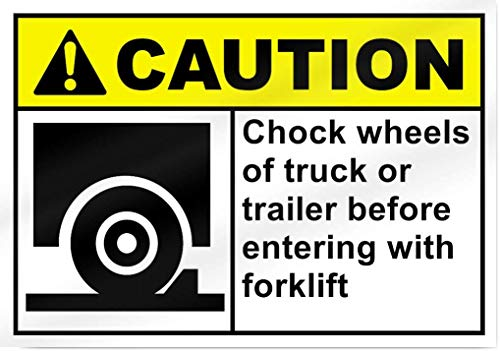 Wise Degree Metal Poster Chock Wheels of Truck Or Trailer Bee Unloading klift Metall Poster Wand Küche Kunst Cafe Garage Shop Bar Dekoration